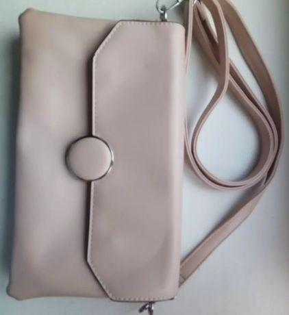 Пыльно розовая сумка