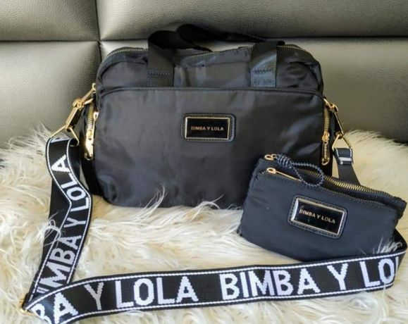 Conjunto Bimba y Lola (mala + alça bimba y Lola + carteira)