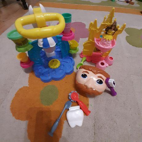 3 zestawy Play-doh