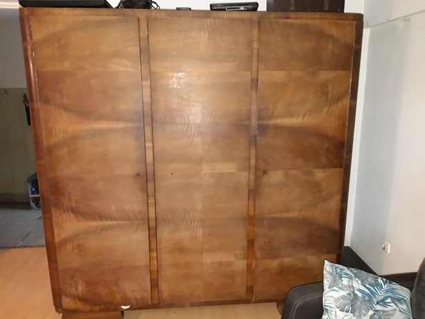 Stara szafa 3 drzwiowa łóżka toaletka