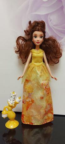 Кукла Бэлль Хасбро Дисней оригинал, Принцесса + подсвечник Люмьер