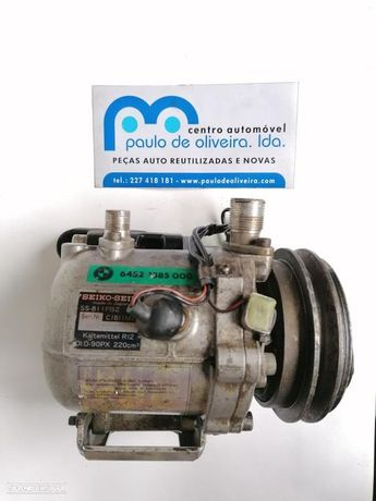 Compressor Do Ar Condicionado Bmw 3 (E30)