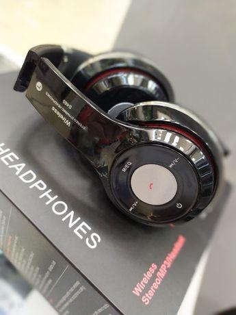 Самовывоз. Беспроводные Bluetooth наушники S 460 с плеером и радио.