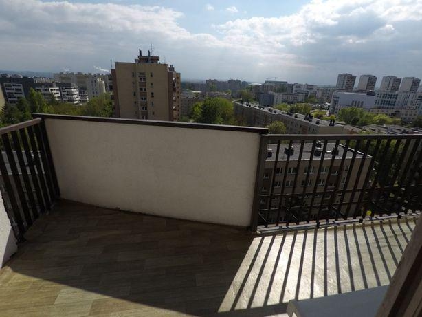 wynajmę mieszkanie 60 m z dużym balkonem -kraków