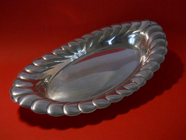 """Винтажное блюдо """"Waverly"""" из столового серебра фирмы VTG Wм Rogers"""