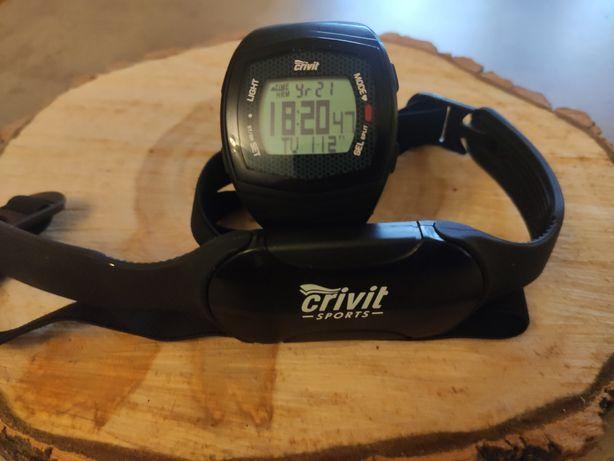 Zegarek do biegania Crivit + pulsometr