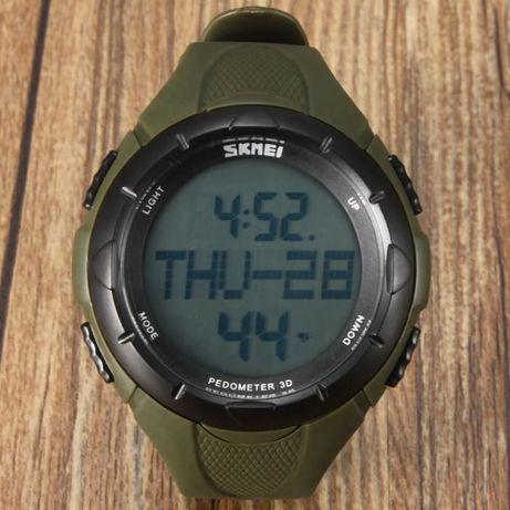 zegarek PEDOMETER pulsometr EKG TĘTNO kalorie SKMEI