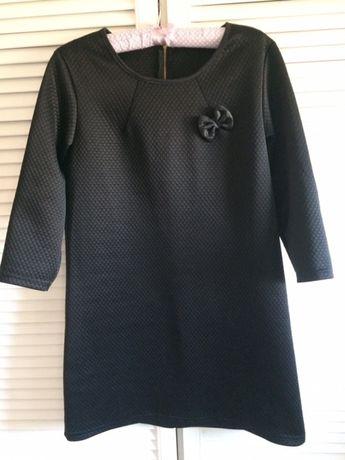 Czarna pikowana z kokardką S/M/L