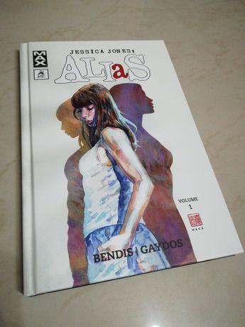Livro Banda Desenhada Comic Alias vol. 1 - Marvel