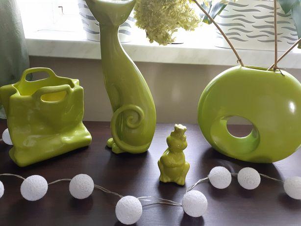 Figurki 4 szt zielone zestaw