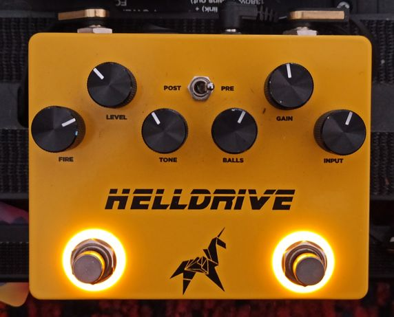 Weehbo Helldrive overdrive booster