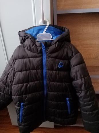 Куртка весна-осень Benetton на мальчика 3-4 лет