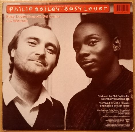 Philip Bailey With Phil Collins / Philip Bailey - Easy Lover Winyl!