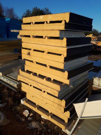Płyty warstwowe, ocieplenie, izolacja termomodernizacja strop poddasze