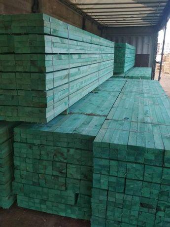 Drewno łaty kontrłaty dachowe impregnowane