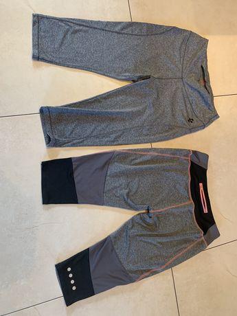 2 x spodnie 3/4 fitness