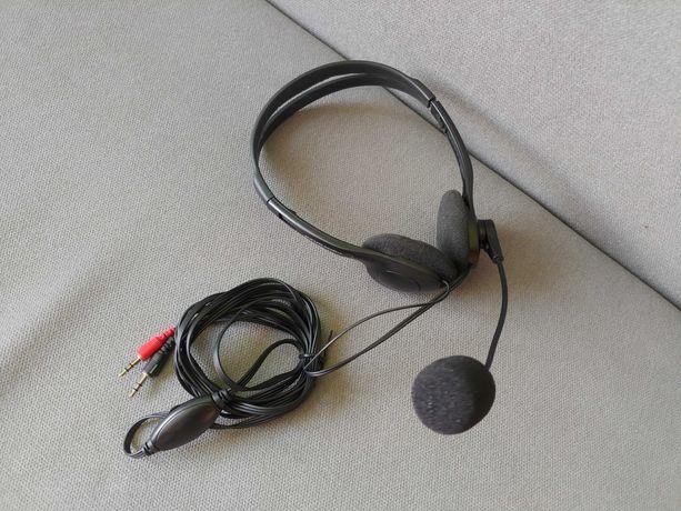 słuchawki z mikrofonem esperanza