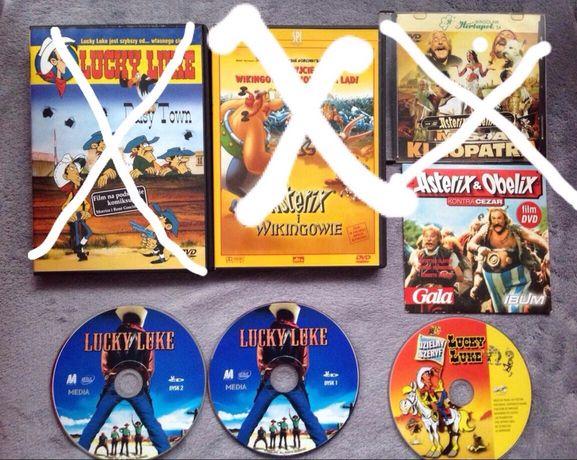 """DVD VCD filmy z serii """"Asterix"""" i """"Lucky Luke"""""""