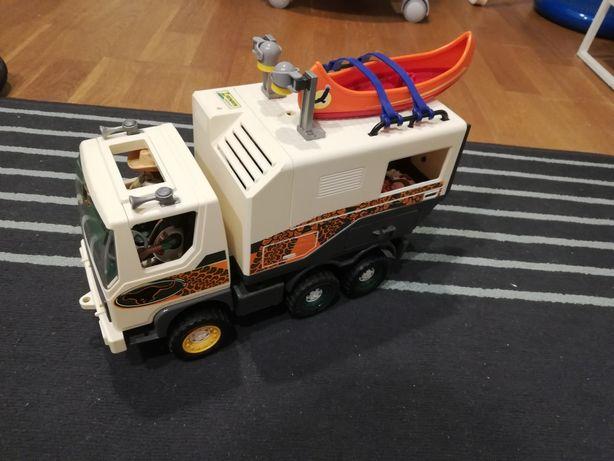 Playmobil safari wyprawa samochod