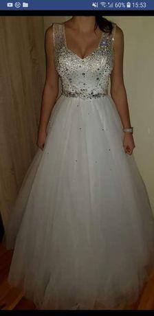 Suknia ślubna princessa roz. Uniwersalny 36/42