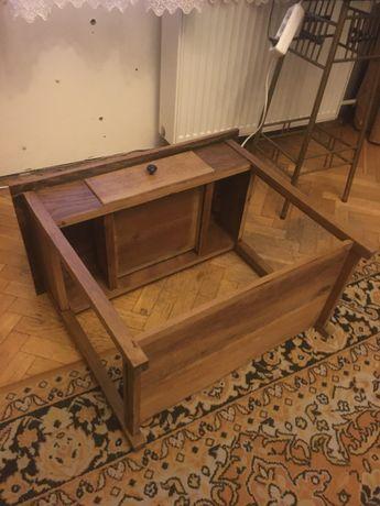 stolik nocny po renowacji