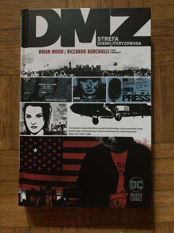 Nowa książka komiks DMZ strefa zdemilitaryzowana Wood/Burchielli