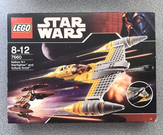 LEGO STAR WARS ЛЕГО ЗВЕЗДНЫЕ ВОЙНЫ истребитель Набу и дроид стервятник