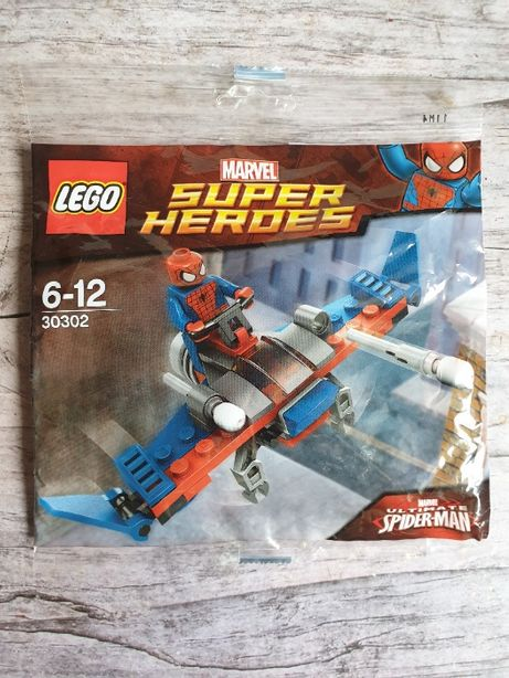 НОВЫЙ конструктор LEGO Spider-Man Super Heroes Marvel (30302)