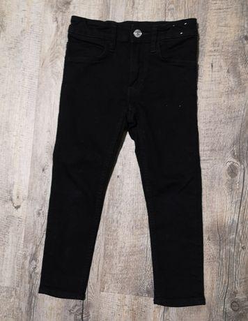 Spodnie hm h&m jeansy dżinsy skinny fit slim