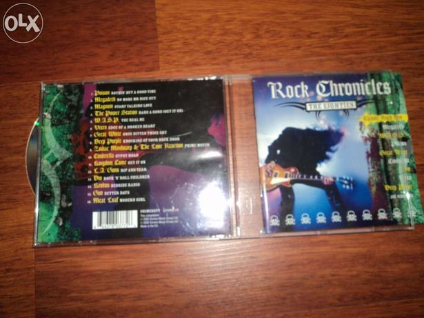 CD - Rock Chronicles - The eighties