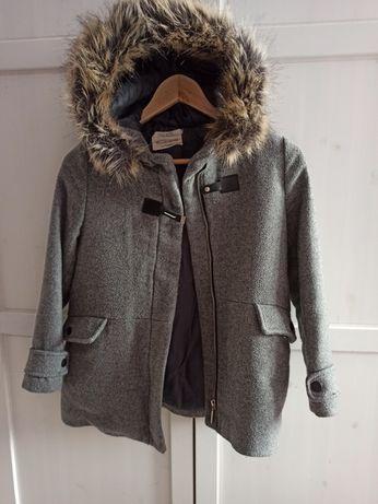 Płaszczyk dziewczęcy firmy Zara