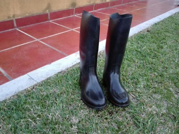 Botas de equitação fouganza n° 32