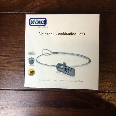 Linka zabezpieczająca SWEEX Notebook Combination Lock (Nowa)