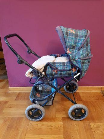 Wózek dla lalki z regulowaną rączką,wys.-75cm, 64cm, 53cm-okazja.