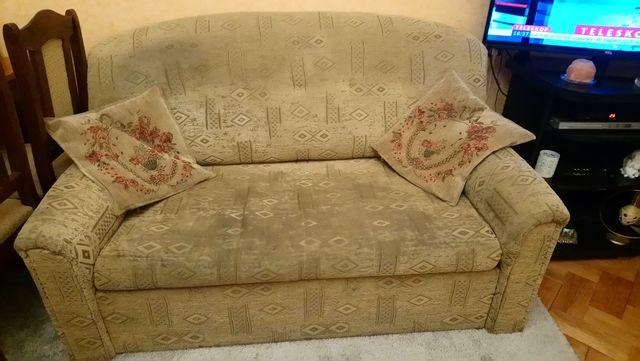 Sofa dwuosobowa + dwa fotele