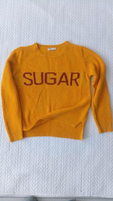 Mega OBNIŻKA-Sweter dziewczęcy, wełniany CROPP.