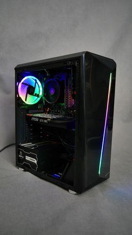 Komputer do gier Ryzen 3 3100 SSD m.2 16gb RAM GTX 960 jak nowy led