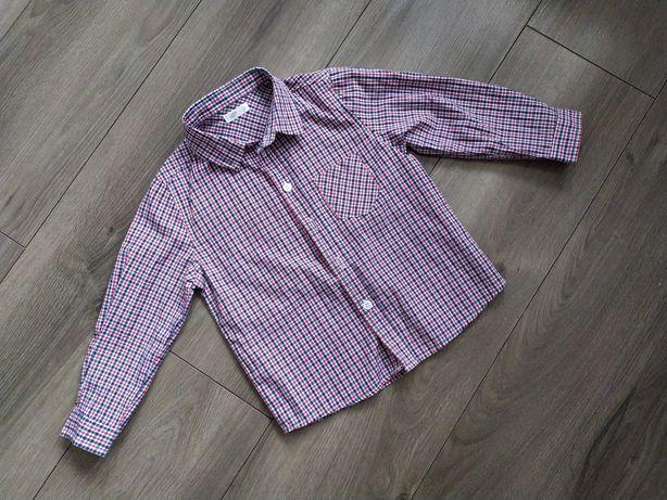 Koszula w kratę Pepco rozmiar 104