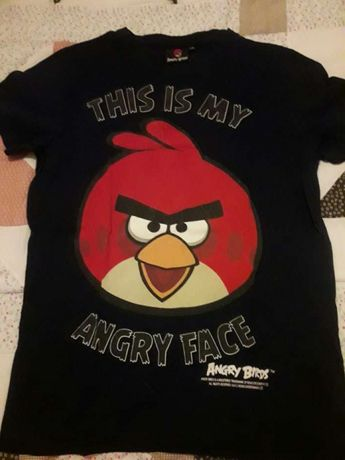 T shirts angry birds da New yorker