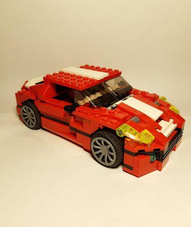 Лего creator красный спорткар 31024