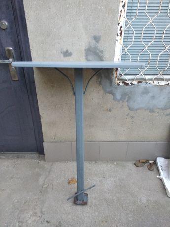 Стол из металла для улицы