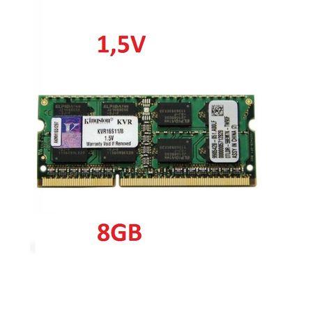 Pamiec 8gb ddr3 do laptopa tanio sodimm PC-12800 gwarancja