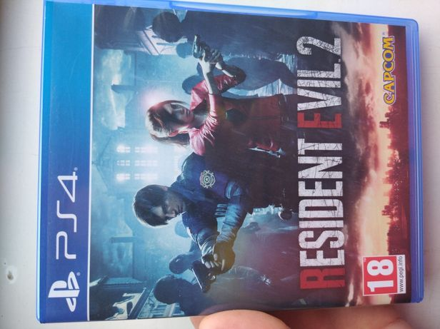 Resident Evil 2 PS4 PlayStation4