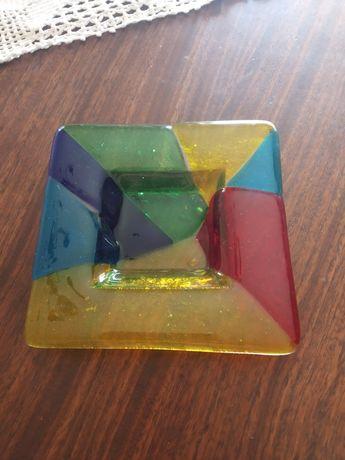 Cinzeiro em vidro colorido NOVO