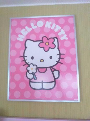Obraz do pokoju dziecka Hello Kitty