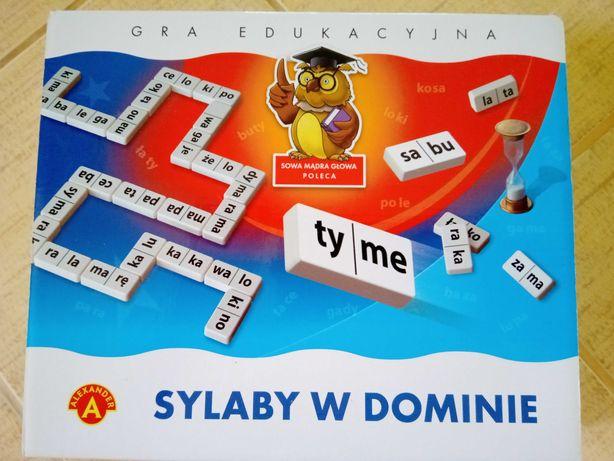 Gra edukacyjna Sylaby w Dominie