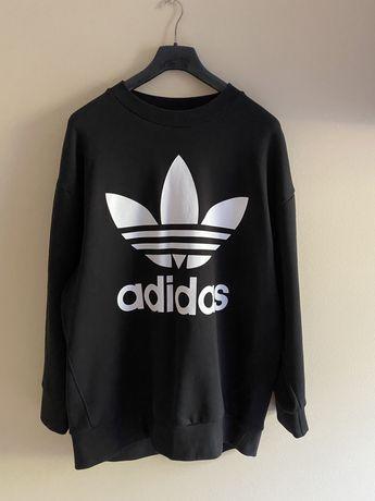 Bluza adidas czarna rozmiar M oversize
