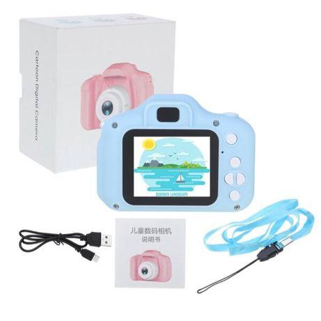 Детский фотоаппарат Carton Foto 3mp с дисплеем 2.0 и функцией видеосъе