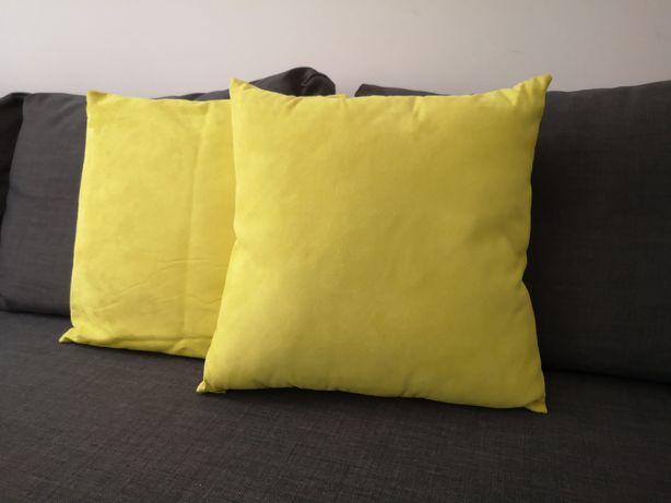 Almofadas amarelas 45*45
