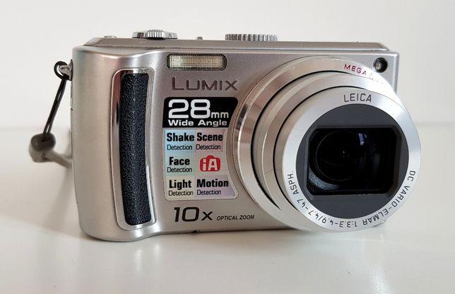 Panasonic Lumix zoom x 10 + karta pamięci SDHC 4GB
